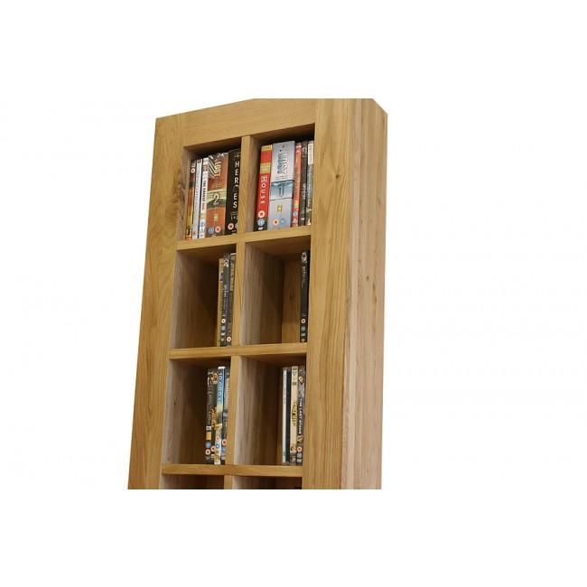 Glenmore Solid Light Oak Dvd Storage Unit Click Oak