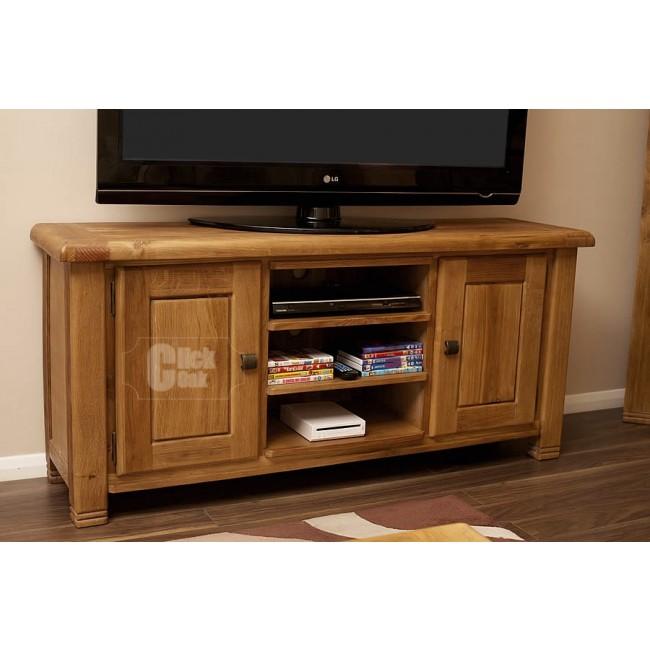 Danube Weathered Oak Tv Cabinet Stand Click Oak