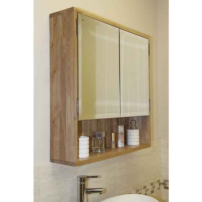Solid Light Oak Bathroom Cabinet Storage Unit Click Oak