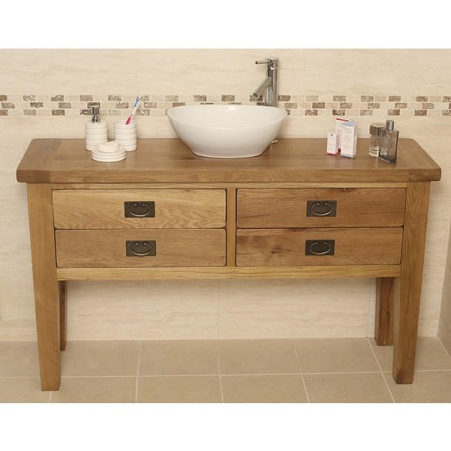 valencia rustic oak bathroom vanity unit click oak Rustic Bathroom Vanity Cabinets Rustic Bathroom Vanity Cabinets