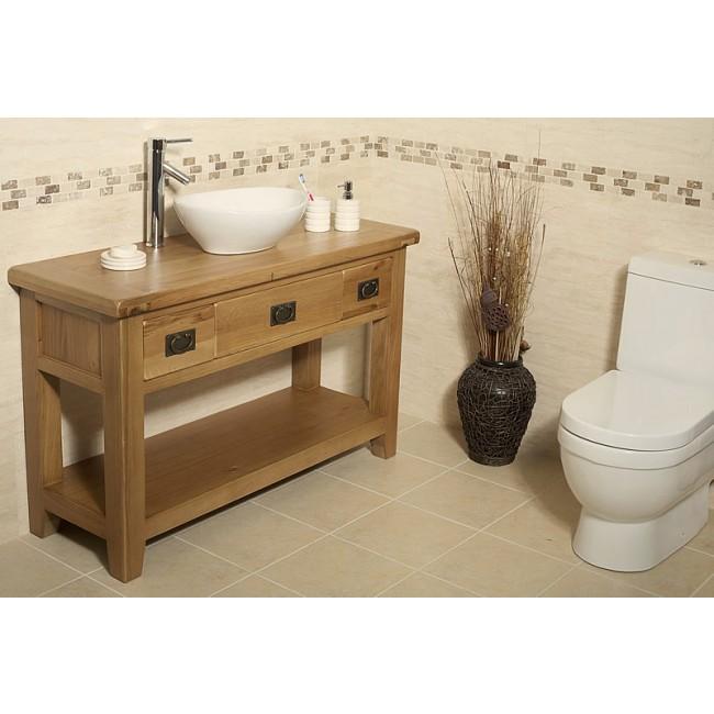 valencia rustic oak bathroom vanity click oak Rustic Cabin Bathroom Vanity rustic oak bathroom vanity