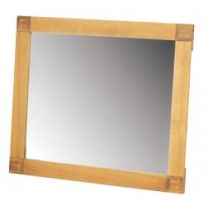 Chunky Oak Large Rectangular Mirror