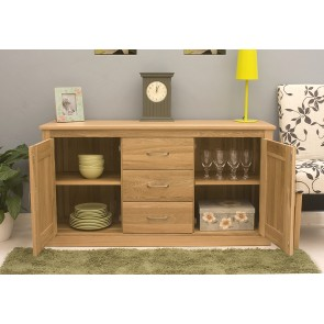 Light Mobel Oak Sideboard