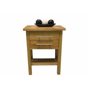 Delamere Oak Lamp End Table
