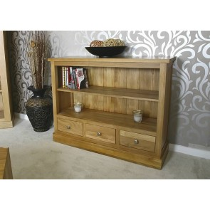 Solid Glenmore Oak Bookcase