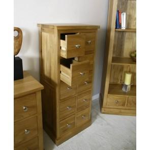 Glenmore Oak DVD Storage Unit