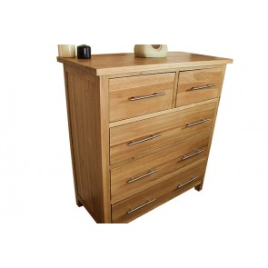 Delamere Solid 2 Over 3 Chest Of Drawers