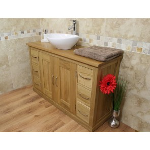 Light Bathroom Vanity Sink Unit