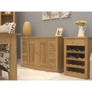 Mobel Light Oak Sideboard