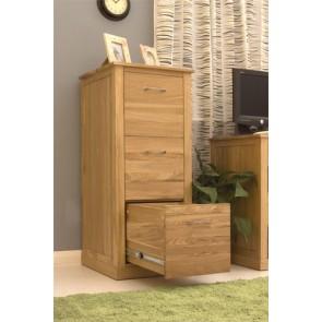 Mobel Solid Oak Free Standing Filing Cabinet
