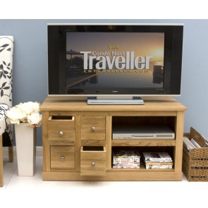Light Oak Compact Tv Lcd Stand