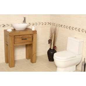 Milan Medium Bathroom Vanity Unit