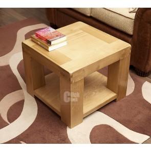 Oslo Rustic Oak Compact Coffee Table