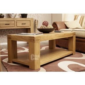 Oslo Rustic Oak Coffee Table