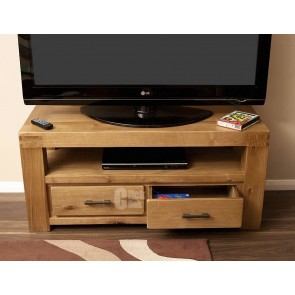 Olso Rustic Oak Tv Stand