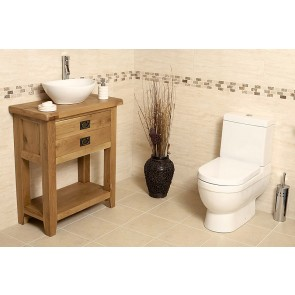 Valencia Medium Rustic Oak Vanity