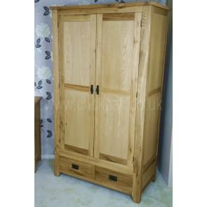 Westbury Rustic Oak Wardrobe