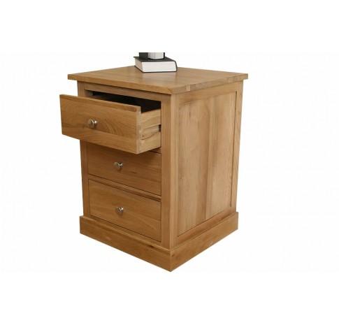 Glenmore Light Oak Bedside Table