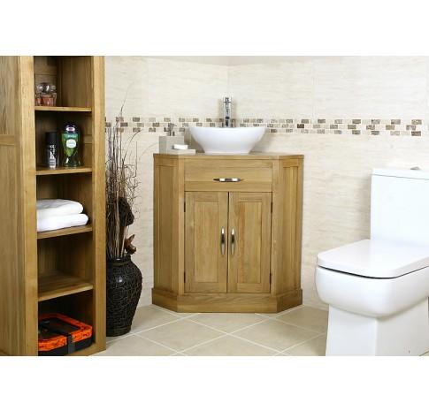 Cube Corner Bathroom Vanity Unit