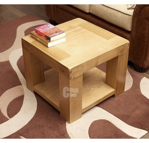 Oslo Rustic Oak Compact Coffee Table