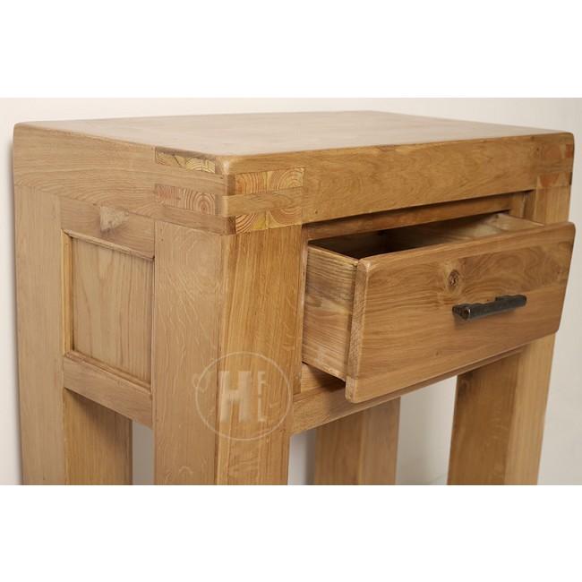 Vancoouver Rustic Oak Coffee Table Click Oak