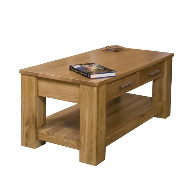 Delamere Solid Oak Coffee Table | Click Oak