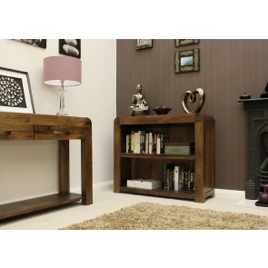 Shiro Furniture Walnut Half Bookcase