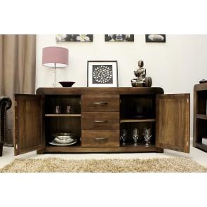 Large Shiro Walnut Furniture Sideboard