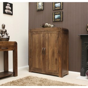 Walnut Shoe Cupboard From The Shiro Walnut Range