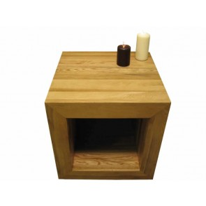 glenmore oak cube coffee table