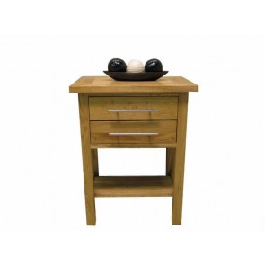 Delamere Oak Lamp End Table