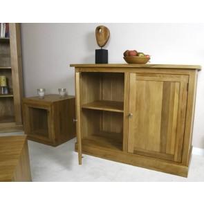 Solid Light Oak Glenmore Hidden Bookcase