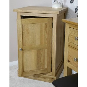 Glenmore Solid Oak Bedside End Table