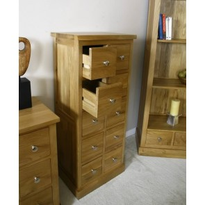 Glenmore Oak DVD Storage Unit