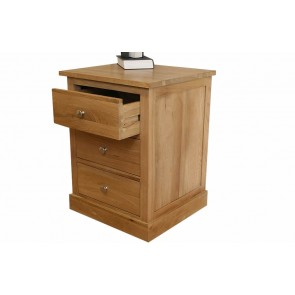 Glenmore Light Oak Bedside Table