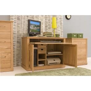 Hidden Home Office Computer Desk