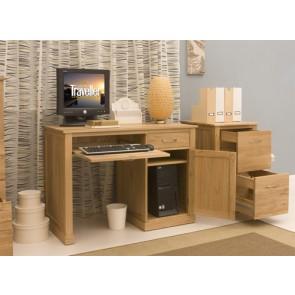 Mobel Oak Computer Desk