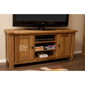 Danube Weathered Oak Tv Stand