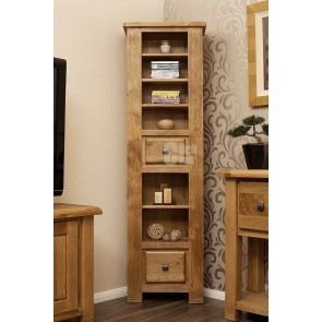 Danube Weathered Oak dvd storage unit