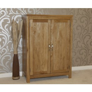 Light Oak Hidden Shoe Cupboard
