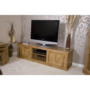 Delamere Oak Plazma Lcd Tv Stand
