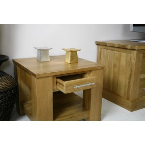 Delamere Solid Light Oak Coffee Table