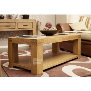Oslo Rustic Oak Coffee Table
