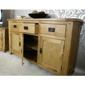 Westbury Rustic Oak Sideboard