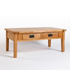 Westbury Rustic Oak Coffee Table - CO-CB08