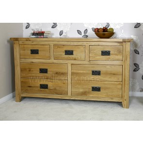 Westbury Oak Furniture Bedroom Chest